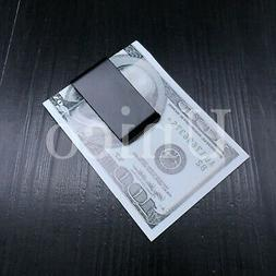10 PC Stainless Steel Slim Money Clip Cash Credit Card Black