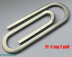 """2.6"""" Big size bodiness Stainless steel Money Paper clip Z010"""