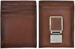 3D Belt Company Men's 3D Brown distressed leather wallet wit
