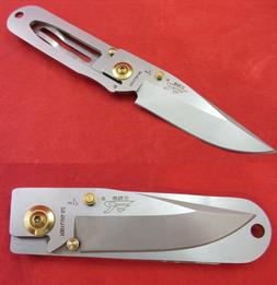 Sanrenmu 7001LUG-SZ Pocket Lightweight EDC Folding Pocket Kn