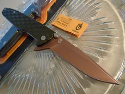 Gerber One-Flip Green Copper Tactical Flipper Pocket Knife 5