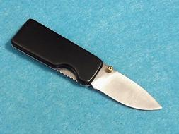 Money Clip Knife 210649 Black handle folding linerlock 2 1/2