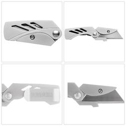 Small Lite Utility Folding Pocket Knife Stainless Steel Mone