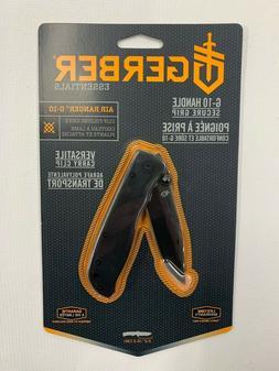 "Gerber Air Ranger G-10 Black Clip Folding Knife With 3.2"" Pl"