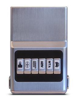 All Silver ProTek™ Plus ACM Wallet Unisex - Credit Card Or