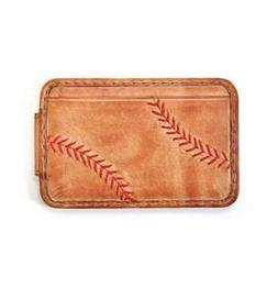 Baseball Stitch Front Pocket Wallet