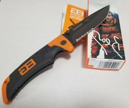 Gerber Bear Grylls Scout Knife, Serrated Edge, Drop Point
