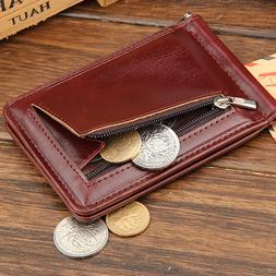 Billfold Leather <font><b>Money</b></font> <font><b>Clips</b