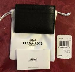 black mens leather money clip wallet f75459