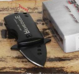 Black Renegade Tactical Steel Spring Assisted Money Clip Poc