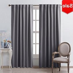 NICETOWN Blackout Curtain Panels Window Draperies -  52x84 I