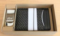 COACH Boxed 3-In-1 Credit Card Case Gift Set In Herringbone