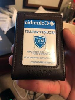 Brand New Columbia Wallet/money Clip