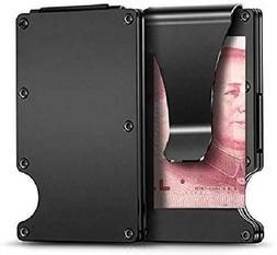 Carbon Fiber Credit Card Holder RFID Blocking Anti Scan Meta
