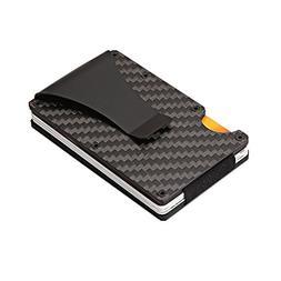 Leagway Carbon Fiber Credit Card Holder, Carbon Fiber Slim M