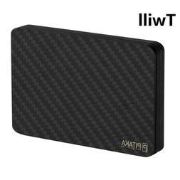 Carbon Fiber Magnetic Wallet, PITAKA Minimalist Modular Slim
