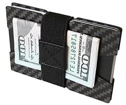 9da64cf44062 Fidelo Carbon Fiber Minimalist Wallet Slim Credit Card Holde
