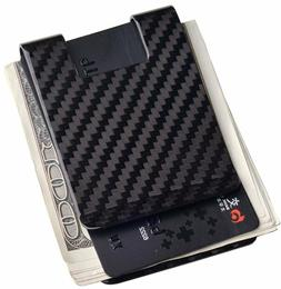 Carbon Fiber Money Clip-Credit card holder CL CARBONLIFE RFI