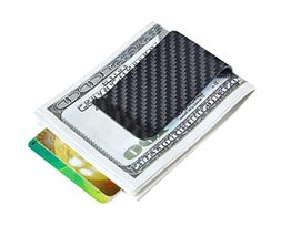 Carbon fiber wallet Money Clip Credit Card holder-CL CARBONL