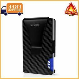 Carbon Fiber Wallet | RFID Blocking Front Pocket Wallet | Ca