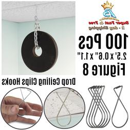 ATLIN Ceiling Hooks  - Drop Ceiling Clips great for Wedding
