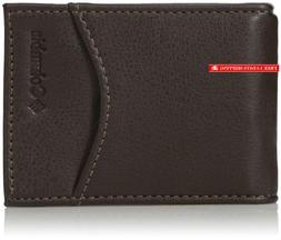 Columbia Men'S Rfid Protected Front Pocket Wallet With Money