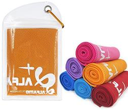 """Cooling Towel for Instant Relief - 40"""" Long As Scarf - XL Ul"""
