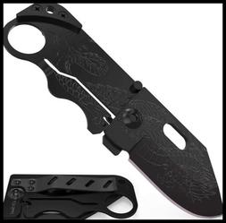 Small Cute Pocket Knife Folding Wallet Knife Mini Tactical K