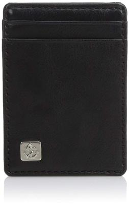 Dockers Men's Front Pocket Wallet With Money Clip