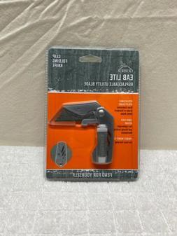 eab lite clip folding utility knife razor