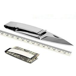 folding knife money clip pocket blade cash