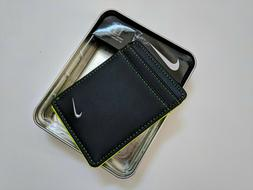 Nike Golf Front Pocket Wallet With Money Clip Mens NEW IN GI