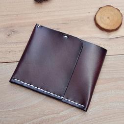 Handmade Leather <font><b>Money</b></font> <font><b>Clip</b>