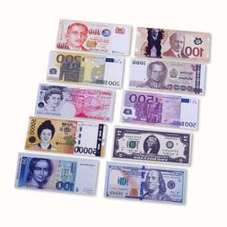 High Qualidy Novelty Unisex Currency Notes Pattern Pound Dol