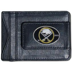 Siskiyou Sports HLMC25 Sabres Leather Cash & Cardholder
