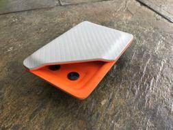 Kydex Wallet With Money Clip Battleship Gray Carbon Fiber/Hu