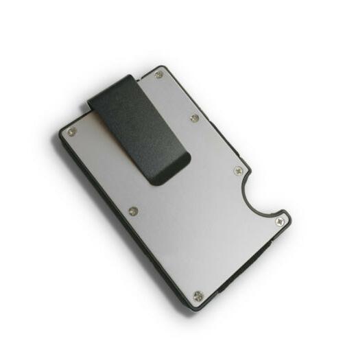 RFID Credit Card Holder Wallet Thin Minimalist