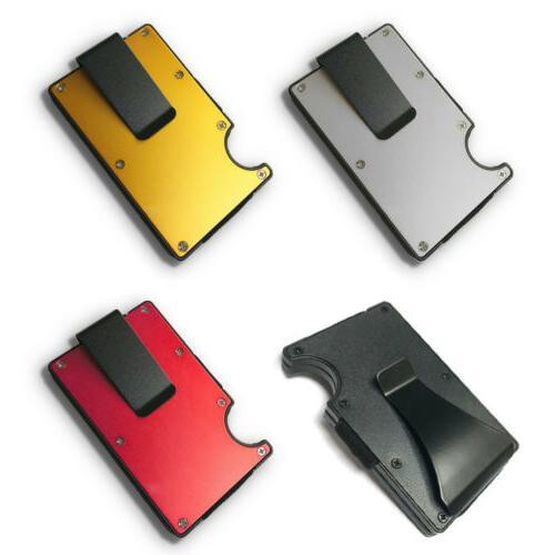 RFID Blocking Credit Card Holder Wallet