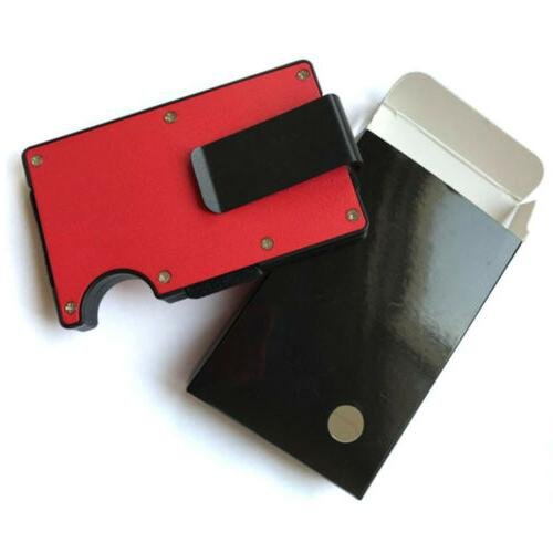 RFID Blocking Clip Credit Wallet