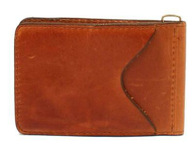 3D Belt Company Men's 3D Cognac Basic Money Clip