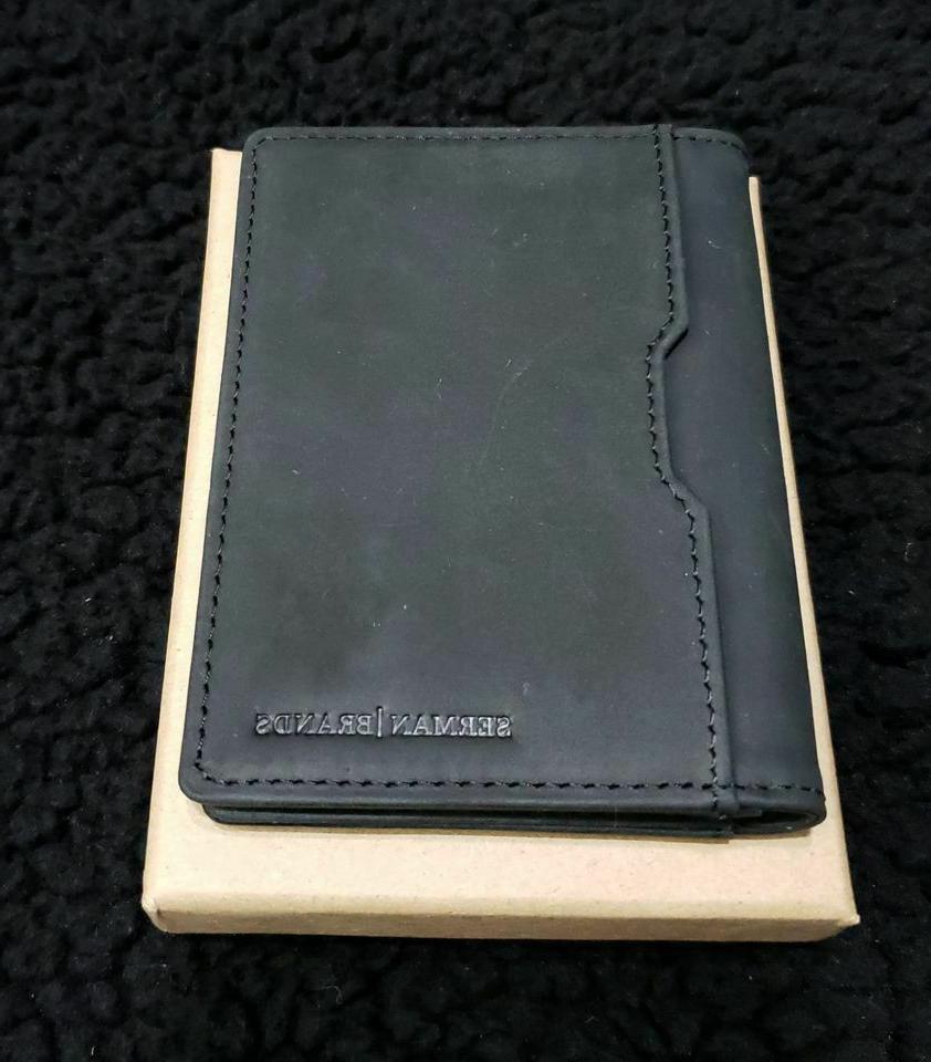 5 s wallet black money clip rfid