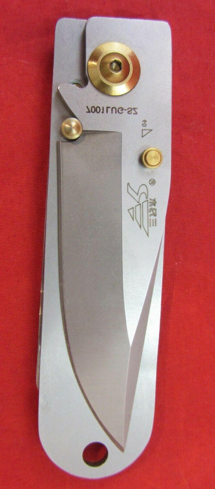 Sanrenmu EDC Pocket Knife Money