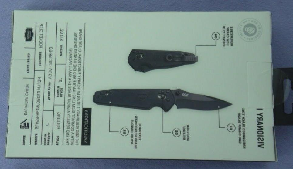 SOG KNIFE KNIFE VISIONARY MADE IN SEKI JAPAN DISCONTINUED