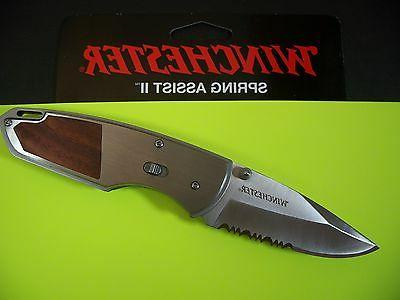 WINCHESTER GERBER Spring Assist 2 - Rosewood F.A.S.T. w/ SAF