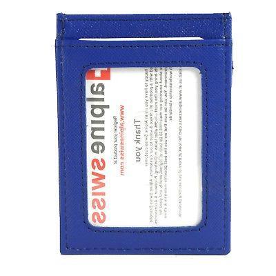 Clip Magnet Front Wallet Slim ID Card Case