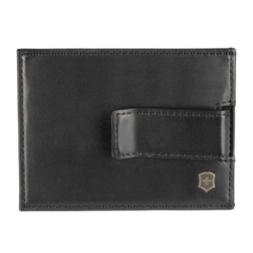 Victorinox Altius Leather Clip RFID Protection Men's Wallet