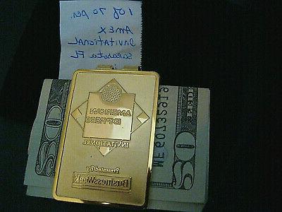 american express invitational money clip 1 of