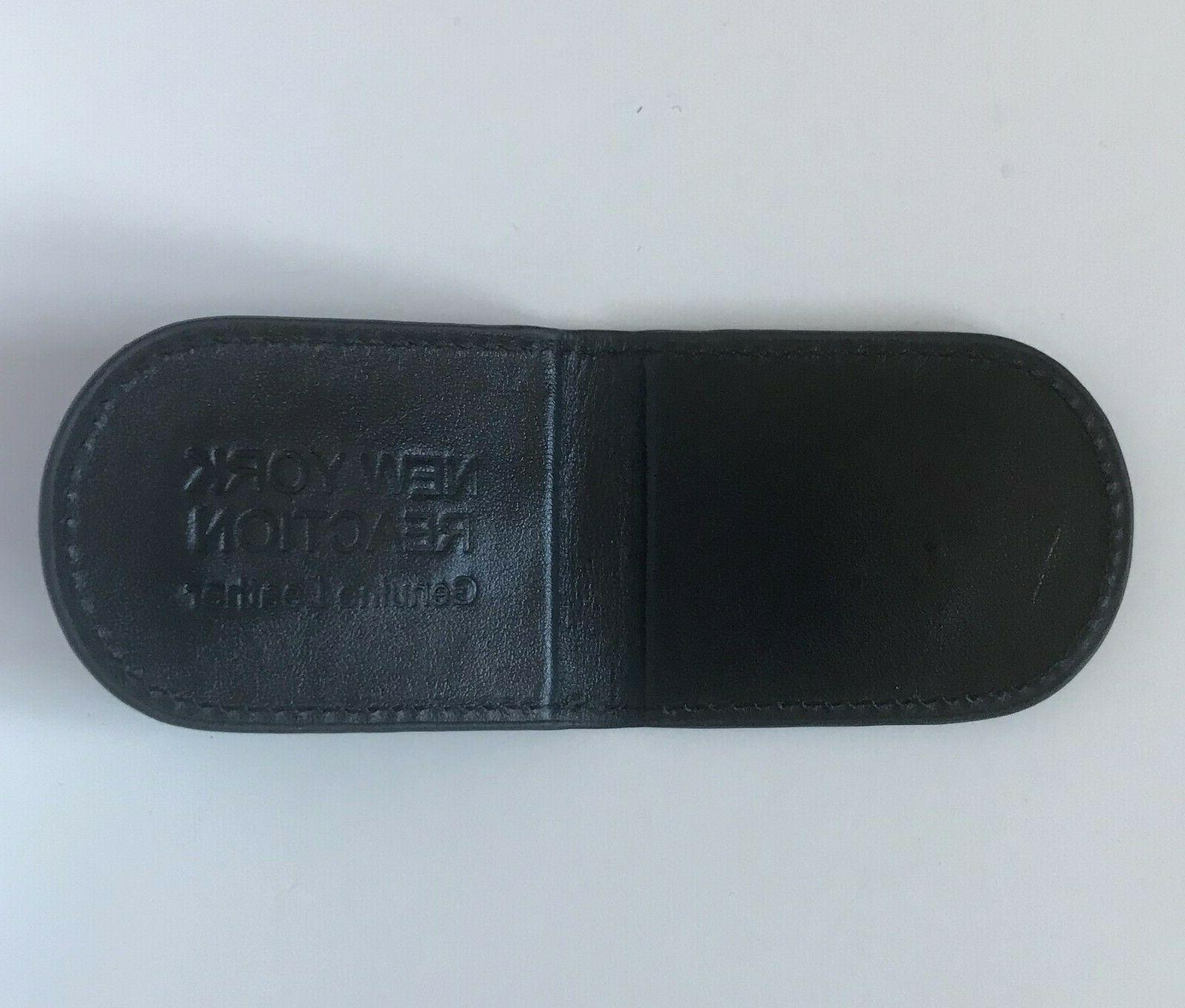 American Leather Clip US USA Magnetic money clip