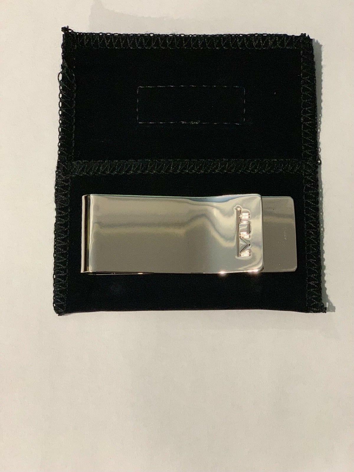 Tumi Etched Clip, 12602SLV