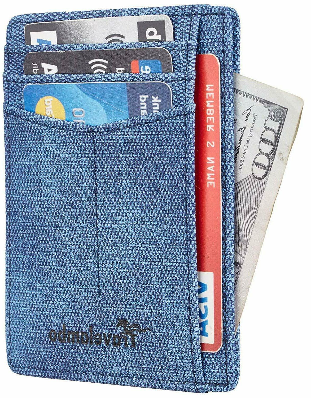 Best RFID Front Minimalist Slim Genuine Leather for all